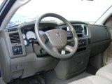 2007 Dodge Ram 1500 SLT Regular Cab 4x4 Khaki Beige Interior
