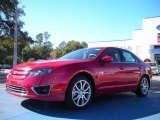 2011 Red Candy Metallic Ford Fusion SE #41459710