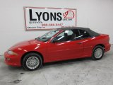 1999 Bright Red Chevrolet Cavalier Z24 Convertible #41459510