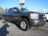 2010 Taupe Gray Metallic Chevrolet Silverado 1500 LT Extended Cab 4x4 #41459879