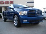 2011 Deep Water Blue Pearl Dodge Ram 1500 Sport Quad Cab #41460067