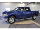 2011 Deep Water Blue Pearl Dodge Ram 1500 Big Horn Crew Cab #41459792