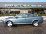 2007 Blue Granite Metallic Chevrolet Cobalt LS Coupe #41459947
