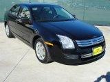 2008 Black Ebony Ford Fusion S #41459808