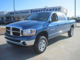 2006 Atlantic Blue Pearl Dodge Ram 1500 SLT Mega Cab 4x4 #41459989