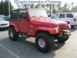 2006 Flame Red Jeep Wrangler X 4x4 #41460200