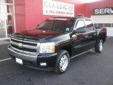 2007 Black Chevrolet Silverado 1500 LT Crew Cab #41460005