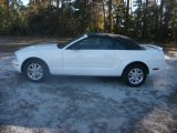 2007 Performance White Ford Mustang V6 Deluxe Convertible #41460009