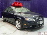 2008 Deep Sea Blue Pearl Effect Audi A4 2.0T quattro S-Line Sedan #41459849