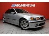 2004 Titanium Silver Metallic BMW 3 Series 330i Sedan #41460033