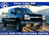 2003 Black Chevrolet Silverado 1500 LS Crew Cab #41460363