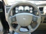 2007 Dodge Ram 1500 SLT Regular Cab Steering Wheel