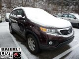 2011 Dark Cherry Kia Sorento LX AWD #41508114