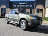 2002 Estate Green Metallic Ford Explorer Sport Trac  #41508469