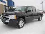 2009 Dark Cherry Red Metallic Chevrolet Silverado 1500 LT Extended Cab 4x4 #41508631