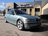 2005 Gray Green Metallic BMW 3 Series 325i Sedan #41508471