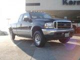 2003 True Blue Metallic Ford F250 Super Duty FX4 SuperCab 4x4 #41508489