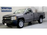 2011 Taupe Gray Metallic Chevrolet Silverado 1500 Regular Cab 4x4 #41508495