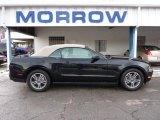 2011 Ebony Black Ford Mustang V6 Premium Convertible #41533929