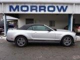 2011 Ingot Silver Metallic Ford Mustang V6 Premium Convertible #41533930