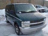 2000 Dark Forest Green Metallic Chevrolet Astro LS Passenger Van #41534356