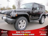 2011 Black Jeep Wrangler Sahara 4x4 #41534022
