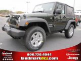 2011 Natural Green Pearl Jeep Wrangler Sport S 4x4 #41534023