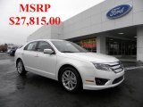 2011 White Platinum Tri-Coat Ford Fusion SEL #41534035