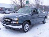 2007 Blue Granite Metallic Chevrolet Silverado 1500 Classic LS Extended Cab #41533696