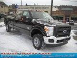2010 Tuxedo Black Ford F150 XL SuperCrew 4x4 #41534043