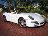 2008 Carrara White Porsche 911 Carrera S Cabriolet #41534405