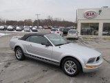 2005 Satin Silver Metallic Ford Mustang V6 Premium Convertible #41534408