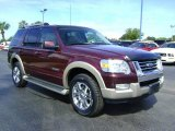 2006 Dark Cherry Metallic Ford Explorer Eddie Bauer #392696