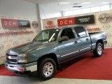 2006 Blue Granite Metallic Chevrolet Silverado 1500 LS Crew Cab 4x4 #41534817