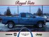 2003 Atlantic Blue Pearl Dodge Ram 1500 ST Quad Cab 4x4 #41533743