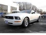 2007 Performance White Ford Mustang V6 Premium Convertible #4152311