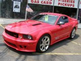 2007 Torch Red Ford Mustang Saleen S281 Supercharged Coupe #4152289