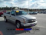 2006 Silver Birch Metallic Chevrolet Silverado 1500 LT Regular Cab #41534443