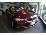 2008 Barbera Red Metallic BMW 3 Series 328xi Sedan #41533793