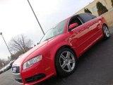 2008 Brilliant Red Audi A4 2.0T quattro S-Line Sedan #41534139