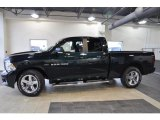 2011 Hunter Green Pearl Dodge Ram 1500 Sport Quad Cab #41534141