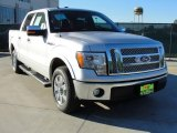 2010 Ingot Silver Metallic Ford F150 Lariat SuperCrew #41534148