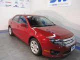 2010 Sangria Red Metallic Ford Fusion SE V6 #41534476
