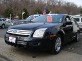 2008 Dark Blue Ink Metallic Ford Fusion SE #4152350