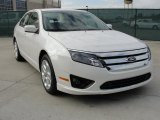 2011 White Platinum Tri-Coat Ford Fusion SE #41534159
