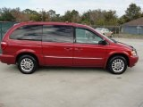 2004 Chrysler Town & Country Inferno Red Tinted Pearlcoat