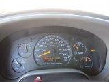 2000 Chevrolet Astro LS AWD Passenger Van Gauges