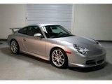 2004 Porsche 911 Arctic Silver Metallic