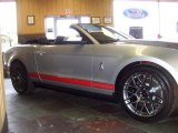 2011 Ingot Silver Metallic Ford Mustang Shelby GT500 SVT Performance Package Convertible #41533850