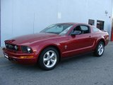 2007 Redfire Metallic Ford Mustang V6 Premium Coupe #41534254
